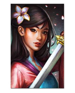 Ímã Decorativo Mulan - Disney - IPD55