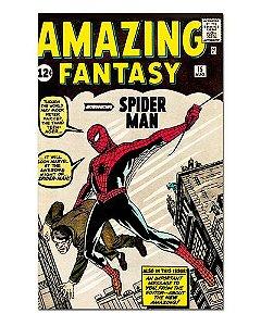 Ímã Decorativo Capa de Quadrinhos - Spider-Man - CQM03