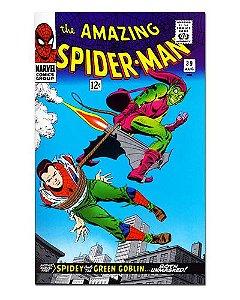Ímã Decorativo Capa de Quadrinhos - Spider-Man - CQM04