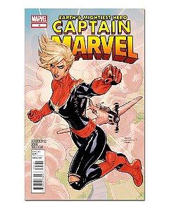 Ímã Decorativo Capa de Quadrinhos - Capitã Marvel - CQM11
