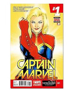 Ímã Decorativo Capa de Quadrinhos - Capitã Marvel - CQM14