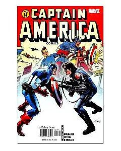 Ímã Decorativo Capa de Quadrinhos - Capitão América - CQM22