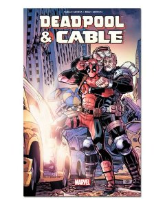 Ímã Decorativo Capa de Quadrinhos - Deadpool - CQM31