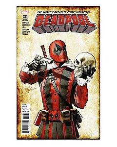 Ímã Decorativo Capa de Quadrinhos - Deadpool - CQM37