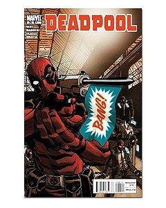 Ímã Decorativo Capa de Quadrinhos Deadpool - CQM39