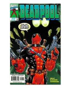 Ímã Decorativo Capa de Quadrinhos - Deadpool - CQM40