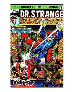 Ímã Decorativo Capa de Quadrinhos - Doutor Estranho - CQM59