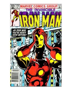 Ímã Decorativo Capa de Quadrinhos - Iron Man - CQM61