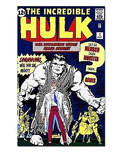 Ímã Decorativo Capa de Quadrinhos - Hulk - CQM74