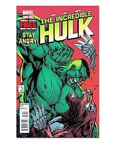 Ímã Decorativo Capa de Quadrinhos - Hulk - CQM79