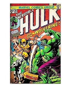 Ímã Decorativo Capa de Quadrinhos - Hulk - CQM80