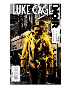 Ímã Decorativo Capa de Quadrinhos - Luke Cage - CQM109