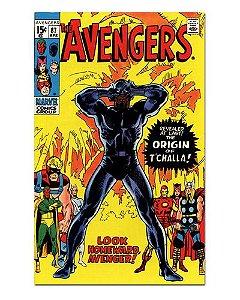 Ímã Decorativo Capa de Quadrinhos - Pantera Negra - CQM119