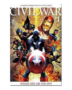 Ímã Decorativo Capa de Quadrinhos - Sagas Marvel - CQM143