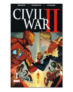 Ímã Decorativo Capa de Quadrinhos - Sagas Marvel - CQM150