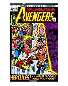 Ímã Decorativo Capa de Quadrinhos - Vingadores - CQM155