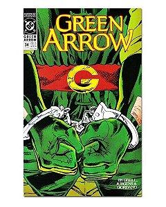 Ímã Decorativo Capa de Quadrinhos - Arqueiro Verde - CQD10
