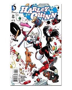 Ímã Decorativo Capa de Quadrinhos - Harley Quinn - CQD41