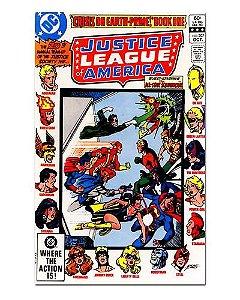 Ímã Decorativo Capa de Quadrinhos - Liga da Justiça - CQD71