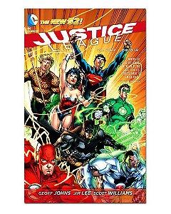 Ímã Decorativo Capa de Quadrinhos - Liga da Justiça - CQD80