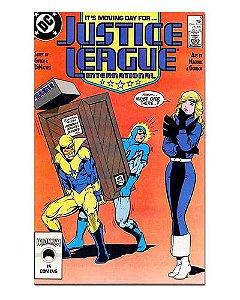 Ímã Decorativo Capa de Quadrinhos - Liga da Justiça Internacional - CQD81