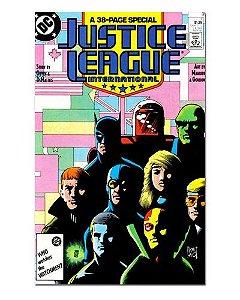 Ímã Decorativo Capa de Quadrinhos - Liga da Justiça Internacional - CQD82