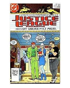 Ímã Decorativo Capa de Quadrinhos - Liga da Justiça Internacional - CQD83