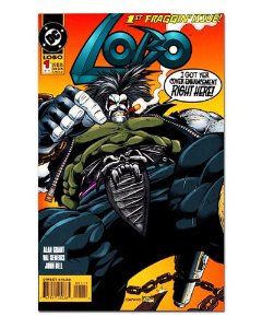 Ímã Decorativo Capa de Quadrinhos - Lobo - CQD91