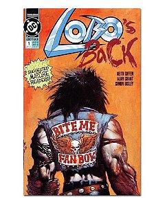 Ímã Decorativo Capa de Quadrinhos - Lobo - CQD97