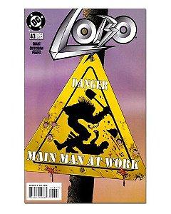 Ímã Decorativo Capa de Quadrinhos - Lobo - CQD98