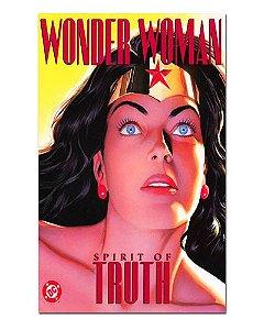 Ímã Decorativo Capa de Quadrinhos Mulher-Maravilha - CQD102