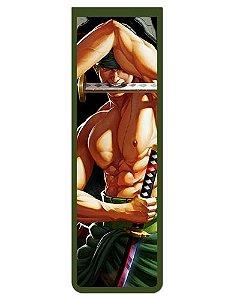 Marcador De Página Magnético Roronoa Zoro - One Piece - MAN560