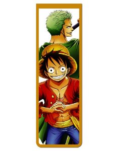 Marcador De Página Magnético Luffy e Zoro - One Piece - MAN562