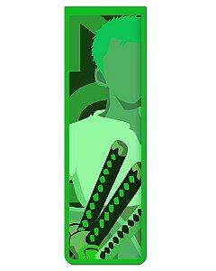 Marcador De Página Magnético Roronoa Zoro - One Piece - MAN607
