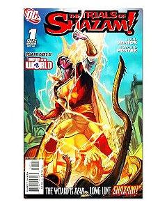 Ímã Decorativo Capa de Quadrinhos Shazam - CQD132