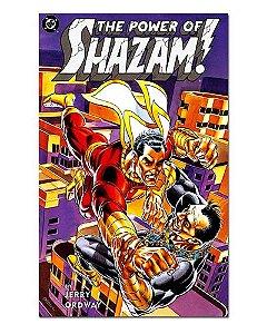 Ímã Decorativo Capa de Quadrinhos Shazam - CQD134