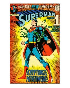 Ímã Decorativo Capa de Quadrinhos Superman - CQD151
