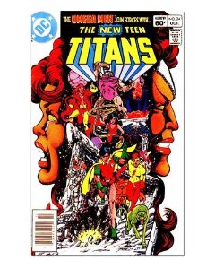 Ímã Decorativo Capa de Quadrinhos Teen Titans - CQD164