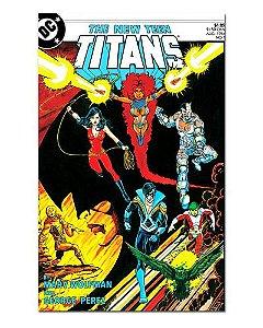 Ímã Decorativo Capa de Quadrinhos Teen Titans - CQD165
