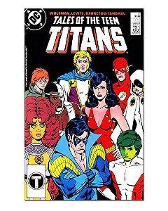 Ímã Decorativo Capa de Quadrinhos Teen Titans - CQD168