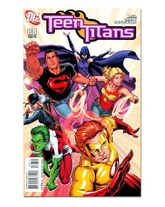 Ímã Decorativo Capa de Quadrinhos Teen Titans - CQD169