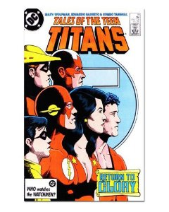 Ímã Decorativo Capa de Quadrinhos Teen Titans - CQD170