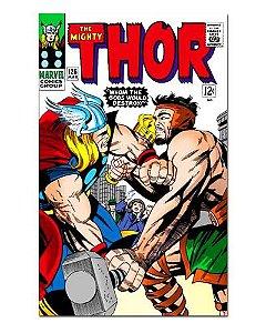 Ímã Decorativo Capa de Quadrinhos Thor - CQM183
