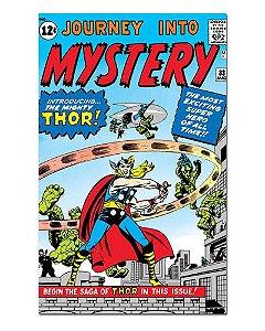 Ímã Decorativo Capa de Quadrinhos Thor - CQM188