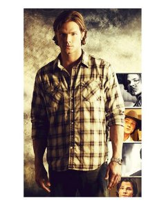 Ímã Decorativo Sam Winchester - Supernatural - IMSP12