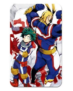 Ímã Decorativo Midoriya e All Might - My Hero Academia - MHA025