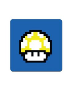 Ímã Decorativo Cogumelo Amarelo - Super Mario - IMB14