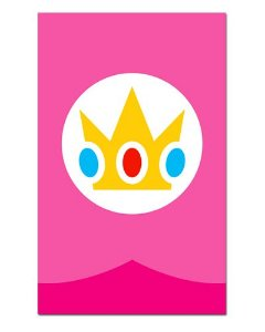 Ímã Decorativo Princesa Peach - Super Mario - IGA06