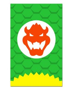 Ímã Decorativo Bowser Koopa - Super Mario - IGA07