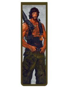 Marcador De Página Magnético John Rambo - Rambo - MFI164